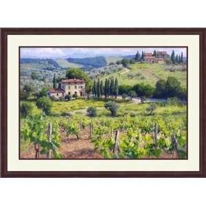 Chianti Estate by June Carey   Framed Artwork