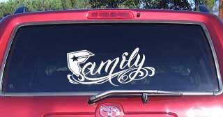 FAMOUS STARS and STRAPS Family 12 Decal Sticker Window