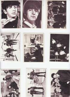 TOPPS BEATLES 1964 HARD DAYS NIGHT COMPLETE SET 55 CARD