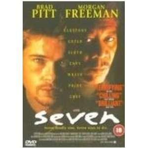Seven Morgan Freeman, Brad Pitt, Kevin Spacey, Gwyneth