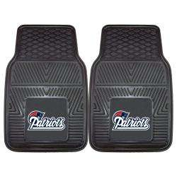 Fanmats New England Patriots 2 piece Vinyl Car Mats