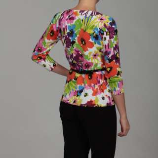 Cable & Gauge Womens Floral Cardigan