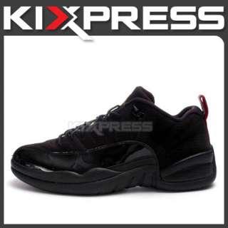 Nike Air Jordan 12 Retro Low XII Black/Red