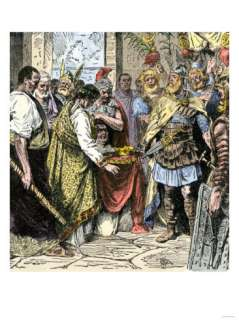 Last Roman Emperor of the West, 476 Ad Giclee Print at AllPosters