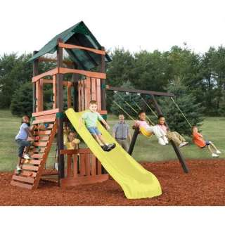 Swing n Slide Tahoe No Cut Swing Set Outdoor Play