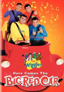 The Wiggles   Here Comes Big Red Car (DVD)