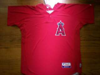 ANAHEIM ANGELS NEW COOL BASE MLB AUTHENTIC BP JERSEY