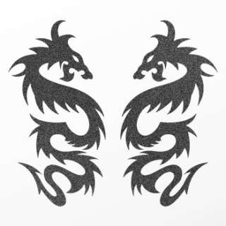 Tribal tattoo design Decal Sticker Dragon Art WRSKR