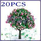 16 Lot MODEL PINE TREE for Railroad House Park HO SCALE