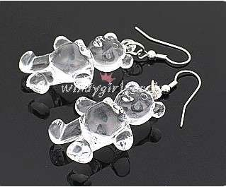Japan new style Fashion Lovely cute bear girsl Earrings