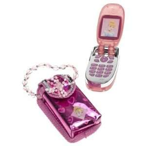 Disney Princess Cinderella Play Phone with Sparkle Jewel