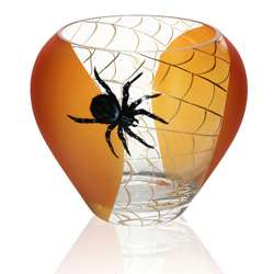 Halloween Spider Design Bowl