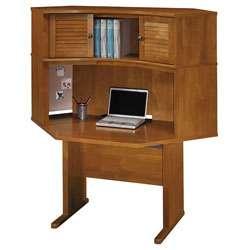Bush Bainbridge Collection Corner Desk and Hutch