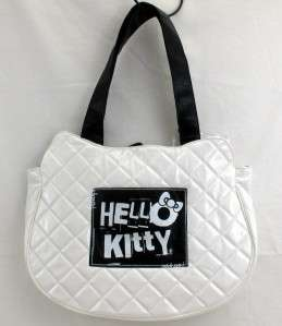 Loungefly Hello Kitty Tote Bag White Skull Purse NEW
