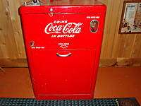 Antique COCA COLA Soda Machine Original VENDO Good Working Condition