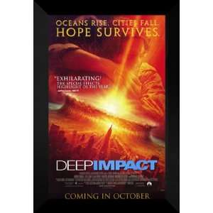Deep Impact 27x40 FRAMED Movie Poster   Style A   1998