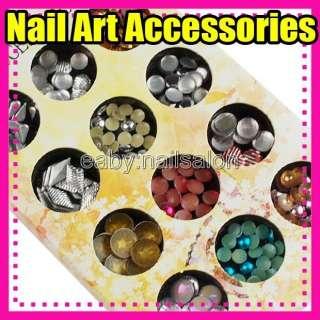 NEW High quality Nail Art accessories shiny glitter #396 5