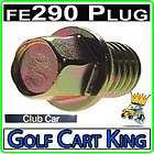 Club Car Engine Oil Drain Plug for FE290 Gas Golf Cart Motors 1016576