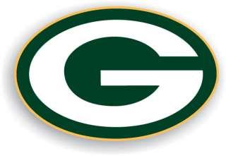 Green Bay Packers Helmet Logo 12 Vinyl Car Magnet