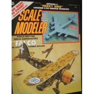 Scale Modeler Magazine (March, 1989) staff Books