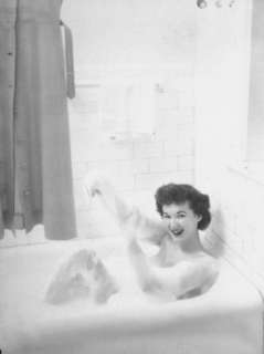 Mcconnell Air Hostess School Taking a Bath Premium Photographic Print