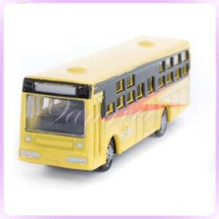6pcs Diecast Model Bus Car 1160 Train Layout Scale N |