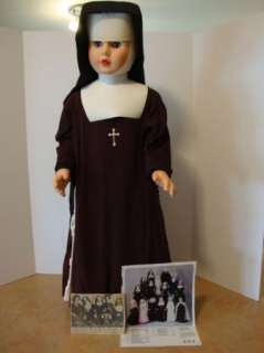 35 1960S FRANCISCAN SISTER ST. MARYS NUN DOLL AUTH. HABIT