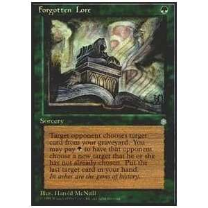 Magic the Gathering   Forgotten Lore   Ice Age Toys & Games