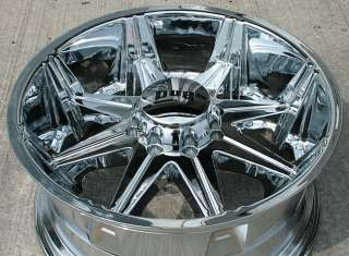 DUB BIG HOMIE 22 CHROME RIMS WHEELS DODGE RAM 2500