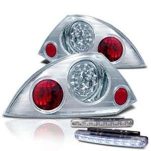Eautolight 00 02 Mitsubishi Eclipse LED Tail Lights + LED