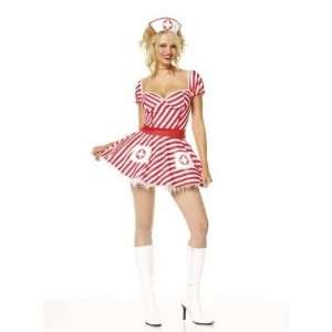 CANDY STRIPER DRESS XL: Toys & Games