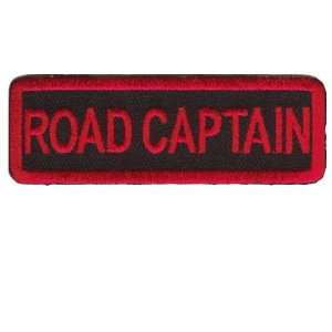 CAPTAIN RED Club NEW Embroidered Biker Vest Patch!: Everything Else