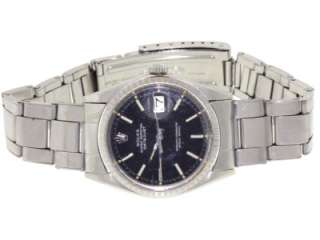 Vintage Rolex Oyster Perpetual DateJust 1603 Automatic Stainless Steel