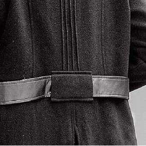 womens winter black wool blend long coat jacket,plus size XL 1X 2X 3X