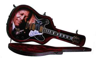 King Autographed Signed Gibson Lucille Best Airbrush Guitar UACC