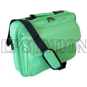 171615Laptop Notebook carrying bag case briefcase ~ Green