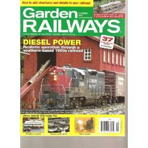 Garden Railways Magazine (Diesel Power, December 2010) Various Books