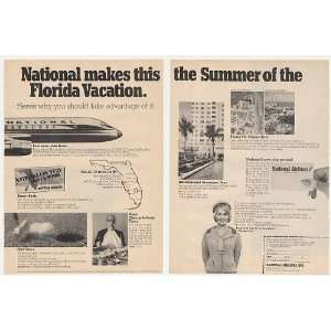 1967 National Airlines Stewardess Florida Vacation 2 Page