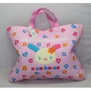Cute Sanrio U SA HA NA  Bag with Handles, 16.5W