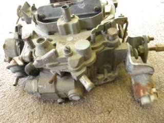 1979 Corvette 17059216 Rochester Q Jet Carburetor Used
