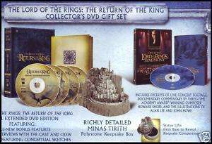 LORD OF THE RINGS   COLLECTORS DVD GIFT SET   RARE