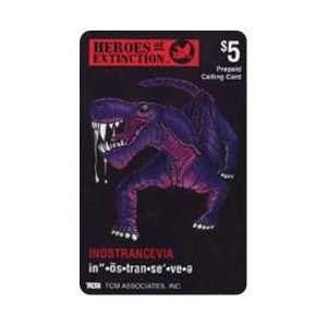 Card: $5. Heros of Extinction: Inostrancevia Dinosaur: Everything Else