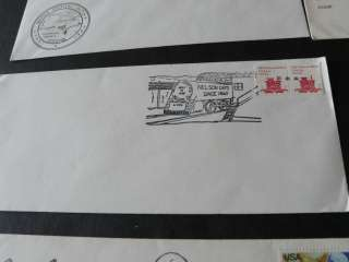 Covers, Envelopes from the 1940s, includes some Gold Stamps +