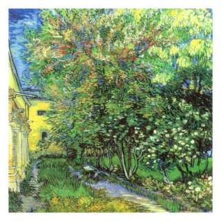 Jardin De LHospice Saint Paul Prints by Vincent van Gogh at