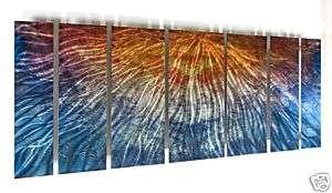 138 CORPORATE METAL WALL ART SCULPTURE MODERN DECOR