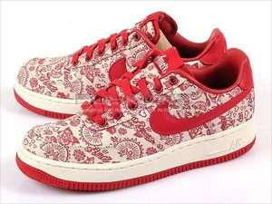 Nike Wmns Air Force 1 07 Sail/Red Valentines Day 2011
