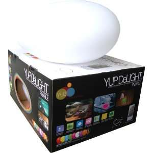 DeLIGHTs PEBBLE 12.5 Inch by 9.5 Inch by 7 Inch Rechargeable LED Light