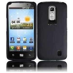VMG LG Nitro HD Hard Case Cover 3 ITEM COMBO   BLACK Hard 2 Pc Plastic