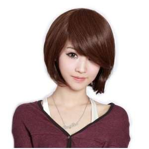 Cool2day Short Light Brown Wig Fashion BOB Wigs JF010391