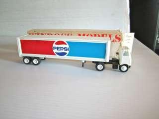 WINROSS PEPSI Cola Semi Tractor Trailer White 5000 COE Truck